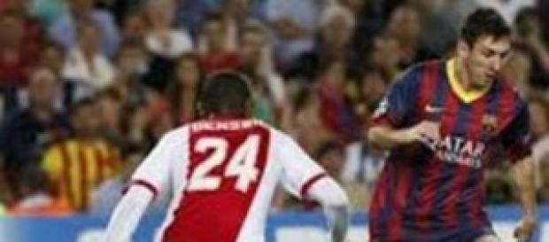 Lionel Messi brilló frente al Ajax