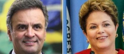 Candidata petista e tucano disputam presidência.