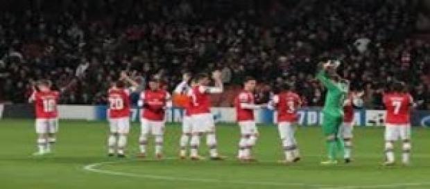 Arsenal in campo sabato pomeriggio alle 16