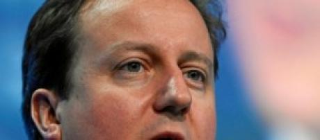 Il premier inglese David Cameron, tra Euro e UE