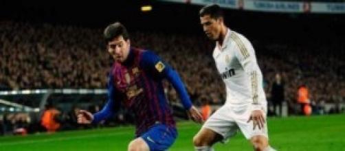Leo Messi y Cristiano Ronaldo cara a cara