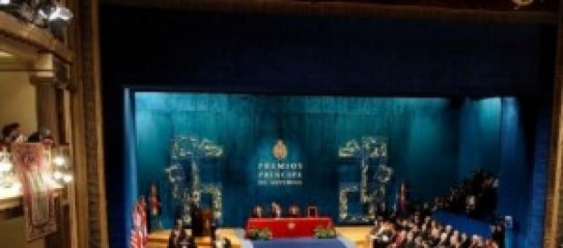 Ceremonia de entrega de los premios