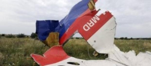 Restos del Boeing777 derribado