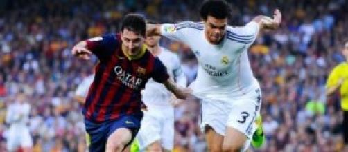 Los dos cracks en un Madrid-Barça.