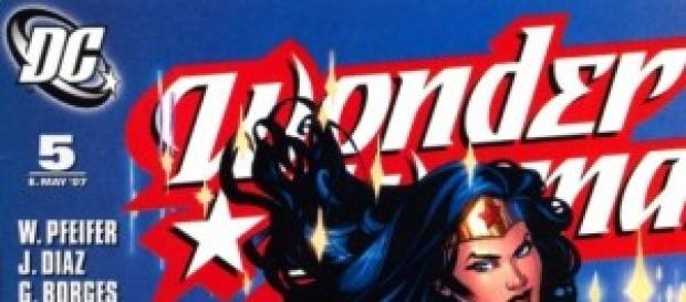 "Portada del cómic ""Wonder Woman"""