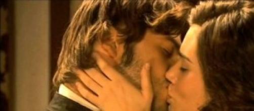 Il segreto: è passione tra Gonzalo e Maria