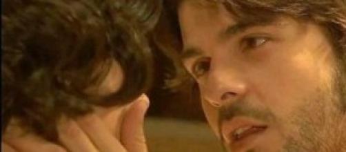Maria e Gonzalo innamorati