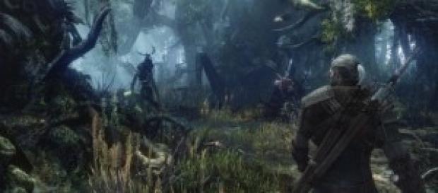 "Detalle del videojuego ""The Witcher 3: Wild Hunt"""