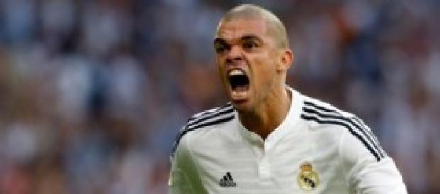 Pepe celebra el 2-1. Foto: Real Madrid