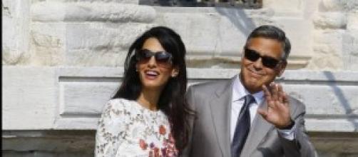 George Clooney vuelve a celebrar su boda.