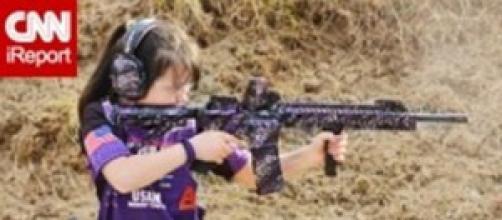 Niños pistoleros en Estados Unidos