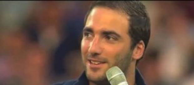 Gonzalo Higuain, centravanti del Napoli