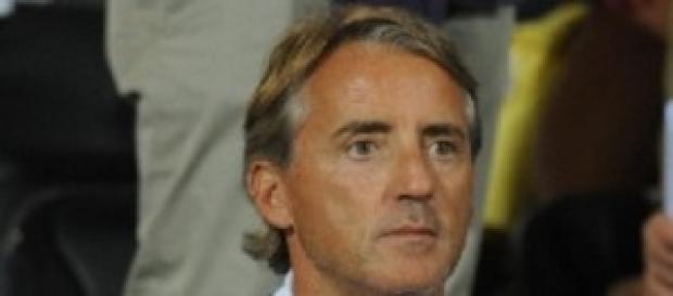 Il tecnico Roberto Mancini