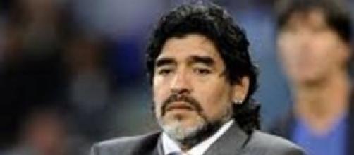 Maradona aggredisce la compagna Rocio Oliva.