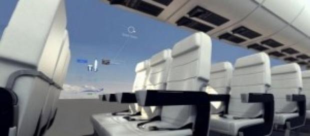janelas virtuais simulam paredes transparentes