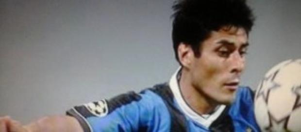 Julio Ricardo Cruz ex attaccante dell'Inter
