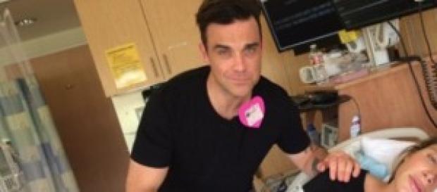 Robbie Williams è papà per la seconda volta