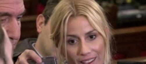 María Belén Rodriguez se quedo sin nada
