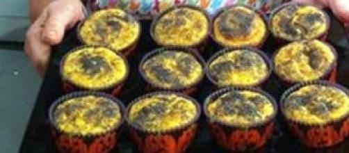 Ricetta muffin di zucca salata pe Halloween
