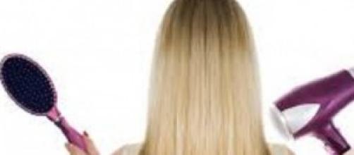 trattamento capelli lunghi
