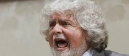 Beppe Grillo leader Movimento 5 Stelle