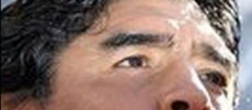 Maradona aggredisce la fidanzata Rocio, video