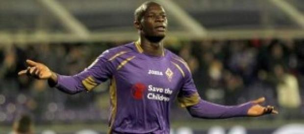 Babacar attaccante senegalese della Fiorentina