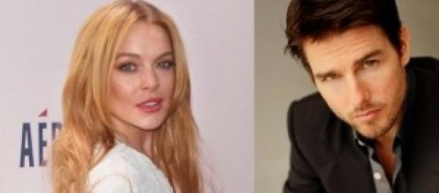 Lindsay Lohan y Tom Cruise estarían juntos.