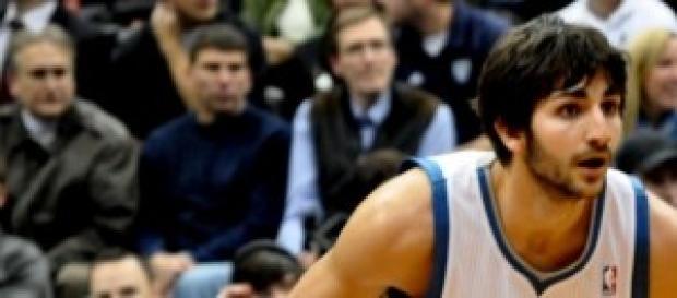 Ricky Rubio, base de los Timberwolves.