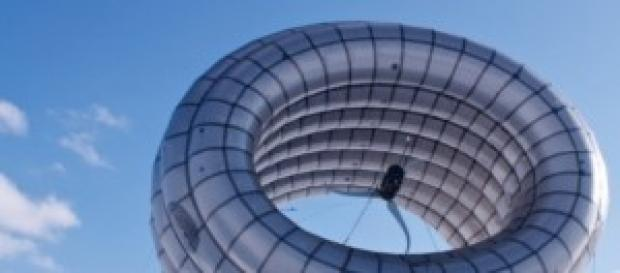 Turbina Aérea Flutuante insuflável