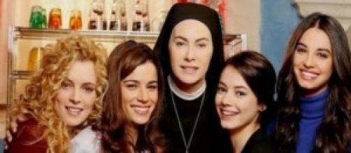 Le donne della fiction 'Che Dio ci aiuti'