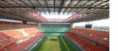 Lo stadio Meazza di Milano