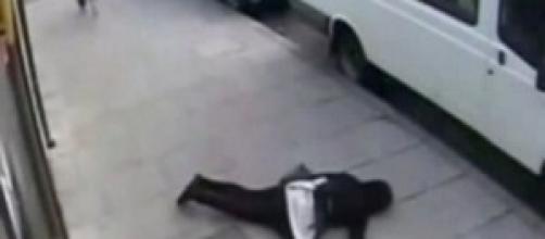 Una vittima del Knockout game