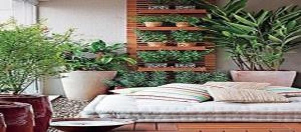 Foto: Jardin interno Fonte:manudamaceno.com.br