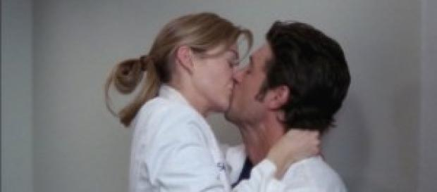 Meredith e Derek, protagonisti di Grey's Anatomy