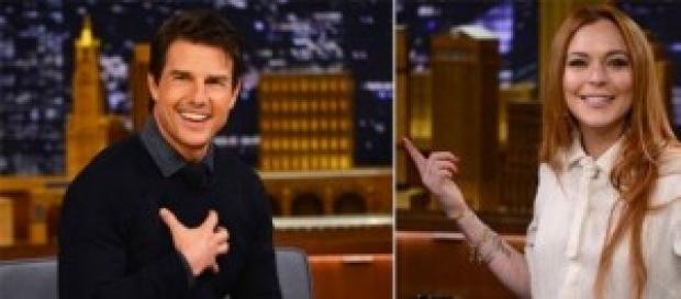 Tom Cruise y Lindsay Lohan de romance por Londres.
