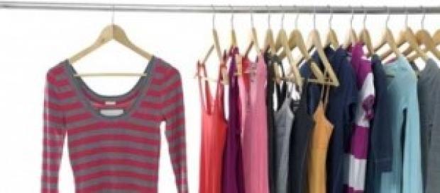 Un armario con muchos estilos
