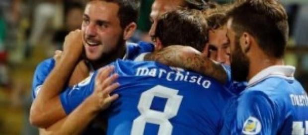 Italia-Arzebaigian, qualificazioni euro 2016