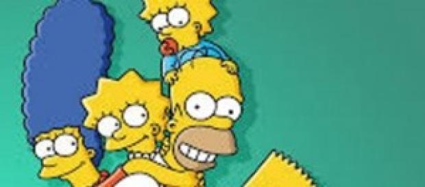 La entrañable familia Simpson
