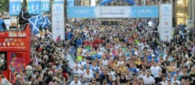 Mokoka wins Great Scottish Run