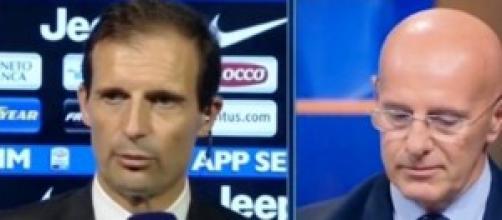 Allegri-Sacchi, nuova polemica dopo Juventus-Roma.