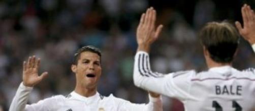 Cristiano celebra uno de sus goles