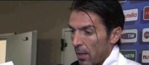 Gigi Buffon, portiere dell'Italia
