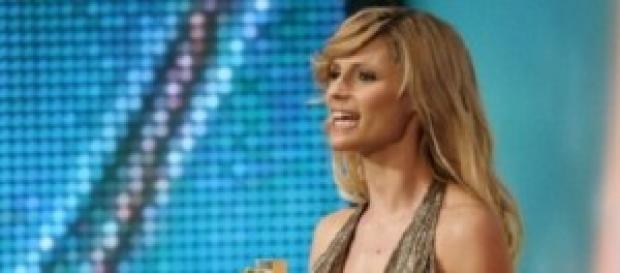 La showgirl Michelle Hunziker