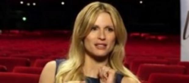 Michelle Hunziker difesa dalla figlia Aurora