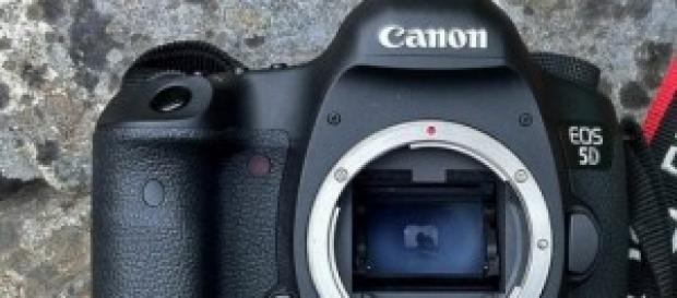 Sensor de Canon, podemos ver los píxeles muertos