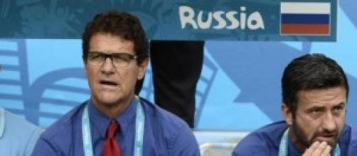 Fabio Capello ct della nazionale russa