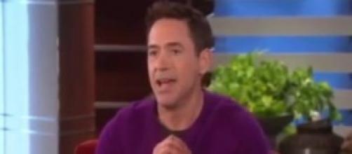 Robert no programa de Ellen  Reprodução: Youtube