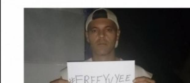 Frank y su hashtag por la liberacion de su exmujer