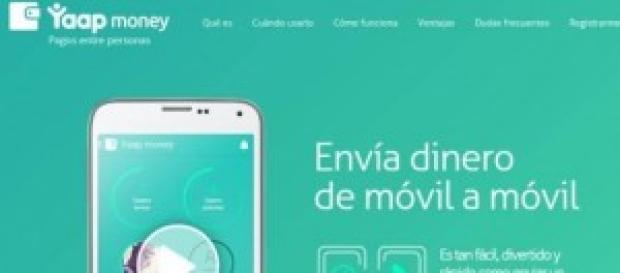 Yaap Money app gratuita para transferir dinero.